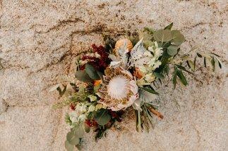 desert-themed bouquet by flower allie